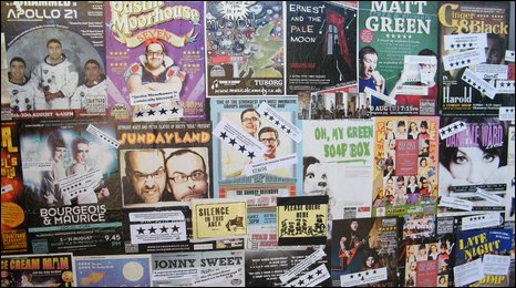 Posters at the PLeasance