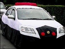 Okamoto Mitsuhiro's creation Masked Police Car