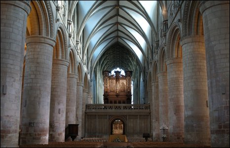 Gloucester Cathedral's organ