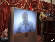 Video of alleged confession by a man named as Wissam Ali Kadhim Ibrahim, 23 August 2009