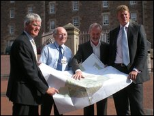 Trustees reveal town plans