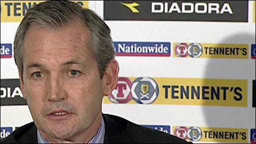 Scotland manager George Burley