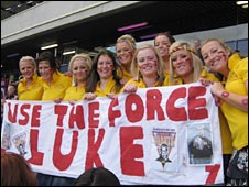 Luke Robinson's fan club