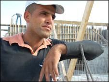 Jaffar Khalil Kawazba, Palestinian worker in Maale Adumim
