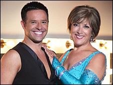 Lynda Bellingham and Darren Bennett