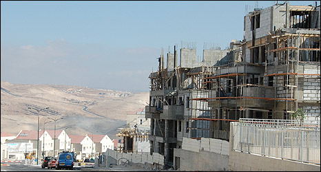 Construction site in Maale Adumim (Aug 2009)