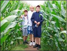Chernobyl children in Maize Maze