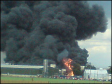 Fire at Hemswell