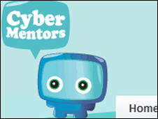 The BeatBullying cybermentors logo