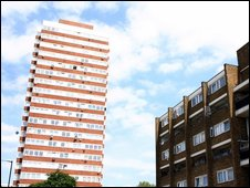 Housing estate in Tower Hamlets