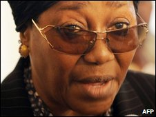 Special fraud police chief Farida Waziri