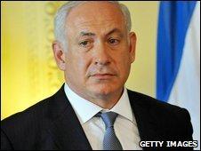 Israeli Prime Minister Benjamin Netanyahu in Downing Street (25 August 2009)