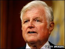 Edward Kennedy - file photo