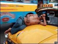 Calcutta taxi