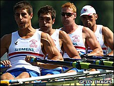 GB men's quadruple skulls