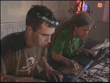 Live coding pub scene