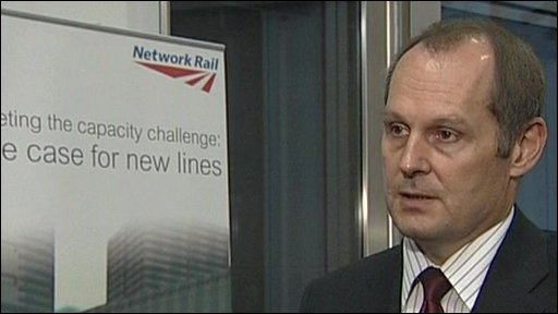 Network Rail Chief Executive Iain Coucher