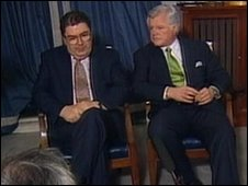 Mr Kennedy was a long-time supporter and friend of John Hume