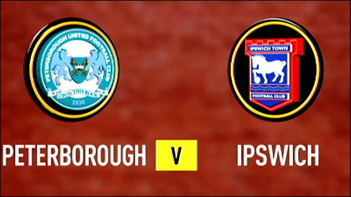 Peterborough United v Ipswich Town