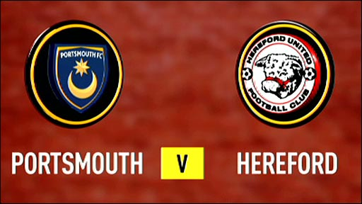 Portsmouth v Hereford United