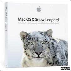 Snow Leopard box (Apple)