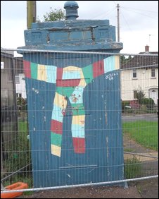 The police box in Newport
