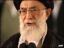 Iran's Supreme Leader Ayatollah Ali Khamenei (file image)