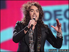 Russell Brand at the MTV Awards