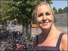 Cyclist Bettina