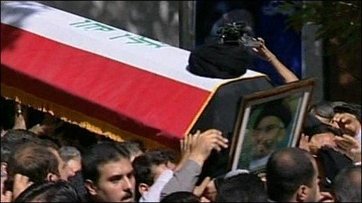 Abdul-Aziz al Hakim's coffin