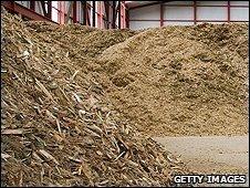 Biomass storage silo (Getty Images)
