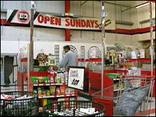 DIY stores benefited from Sunday trading