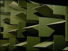 sound proofing in anechoic chamber