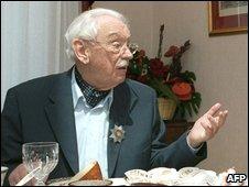 Sergei Mikhalkov in 2003