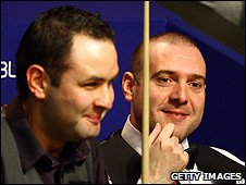 Jamie Burnett and Stephen Maguire