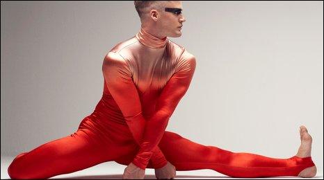 NEW WORK (dancer Simon Williams)