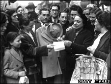 Clothes rationing was introduced in June 1941