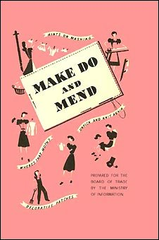 Cover of the original Make Do and Mend