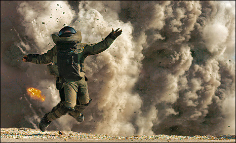 Scene from The Hurt Locker