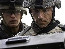 Guy Pearce in The Hurt Locker