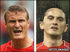 Robert Huth and Tuncay