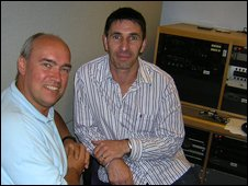Ian Cheeseman and Paul Lake