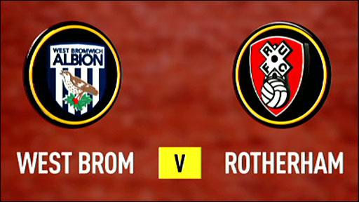West Brom v Rotherham