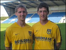 Steven Kinniburgh (left) and Ross Perry (right)