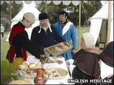 Medieval enactors