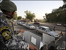 Baghdad checkpoint