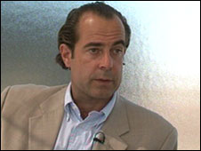 Frank Marthaler, executive vice president of Swiss Post