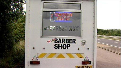 Mobile barber