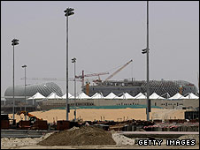 Abu Dhabi is building a new track to host this season's F1 finale