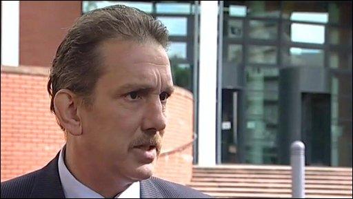 Detective Inspector Dave Groombridge